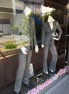 オーダースーツのエフワン・飯田橋店