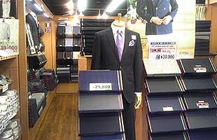 オーダースーツのエフワン・虎ノ門店